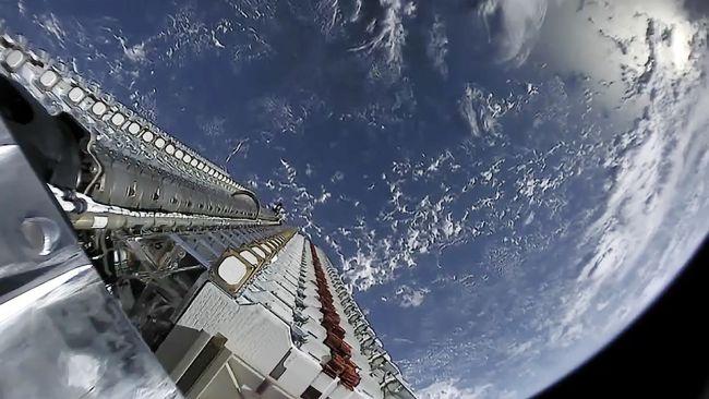 کاهش نور ماهواره های استارلینک
