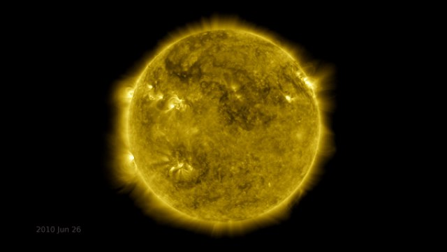Incredible time-lapse video shows 10 years of the sun's history in 6 minutes