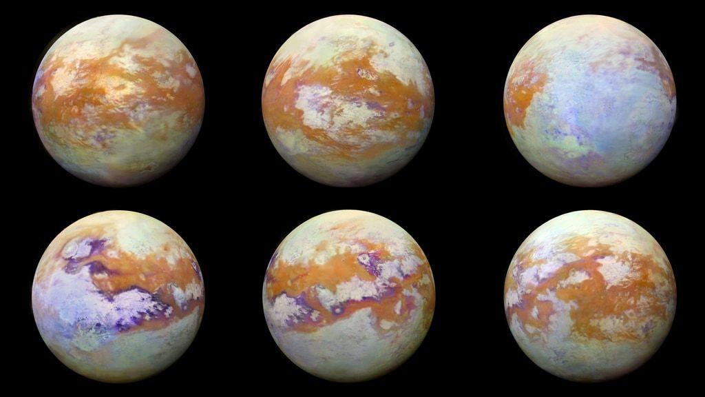 تصاویر جدید تیتان، قمر زحل