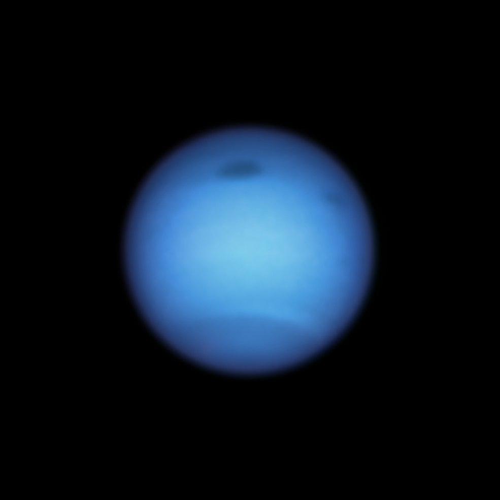 طوفان تاریک در نپتون تغییر جهت میدهد؛ احتمال شکلگیری یک از هم گسیختگی